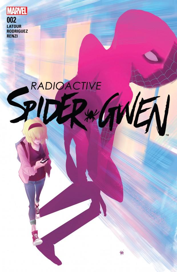 Spider-Gwen #2 cover
