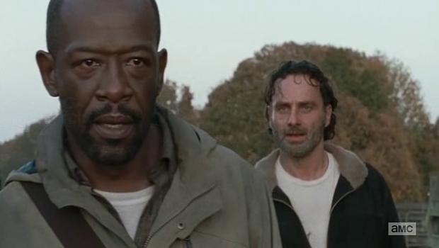 Rick goes home
