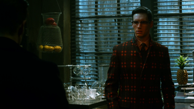 Hey, Riddler, nice new suit